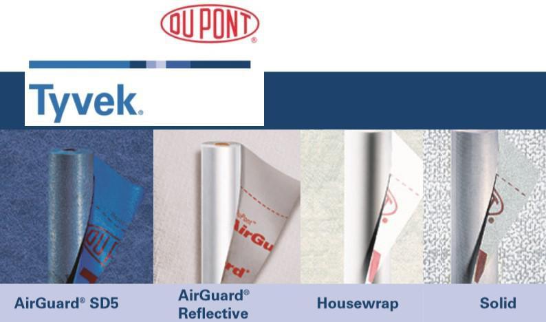 Нетканые материалs DuPont Tyvek
