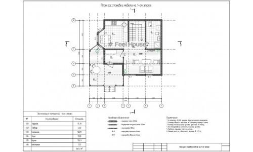 Архитектурный проект - АР, Конструктивные решения - КР, Смета